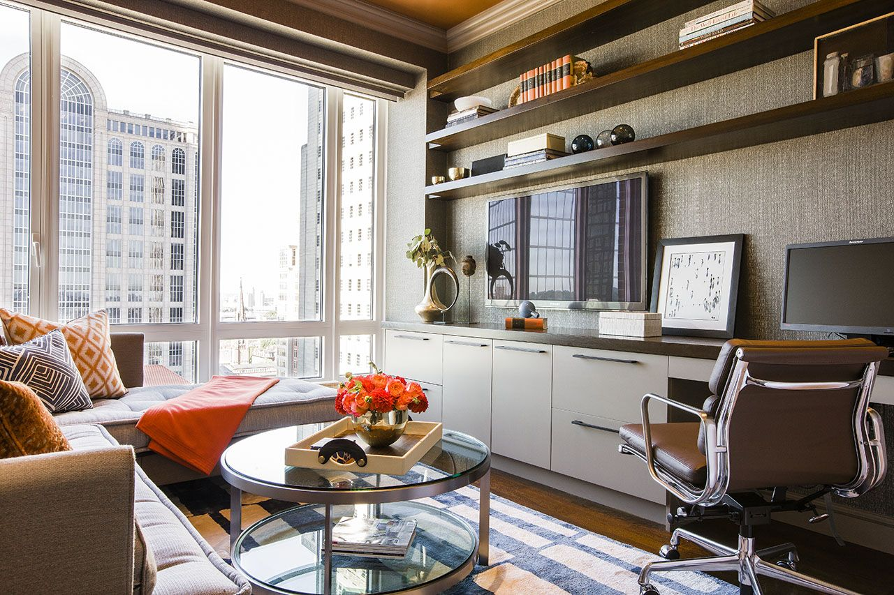 home office decorating ideas nyc. But Not Sure Whether This Is The Kind Of Ambience I Want For My Home Office. Back Bay Residence - Contemporary Office Boston Terrat Elms Interior Decorating Ideas Nyc