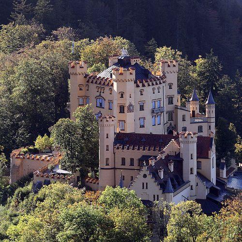 Schloss Hohenschwangau Neuschwanstein Castle Castle Fairytale Castle