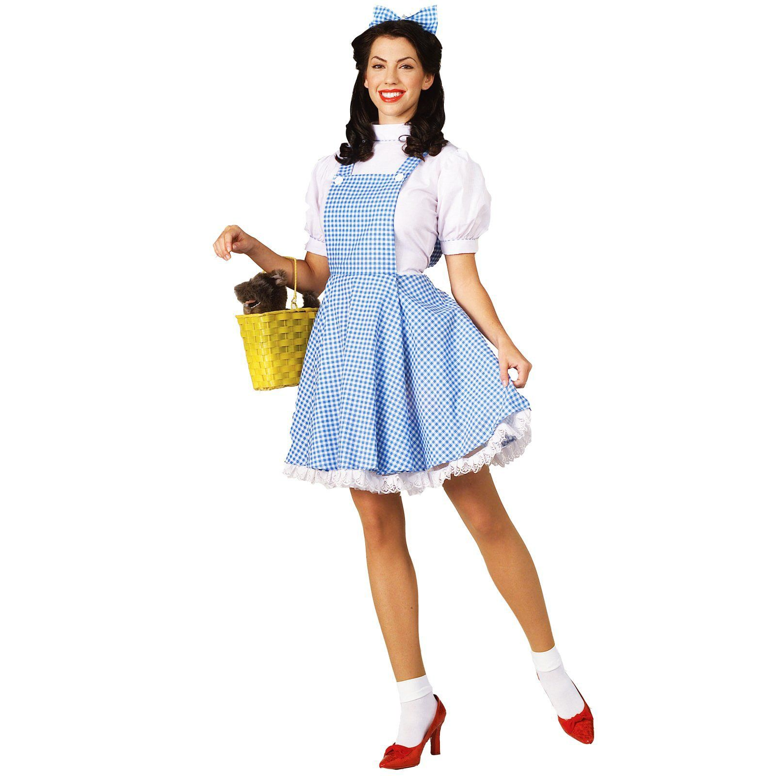 wizard of oz dorothy adult costume | costumes, halloween costumes
