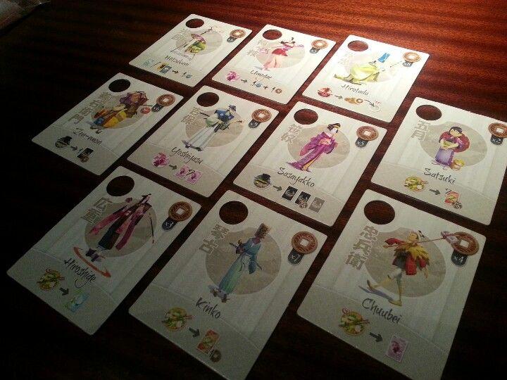 Tokaido - Traveler Cards