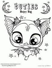 The Littlest Pet Shop Coloring Pages Cuties Google Zoeken Animal Coloring Pages Bat Coloring Pages Coloring Pages