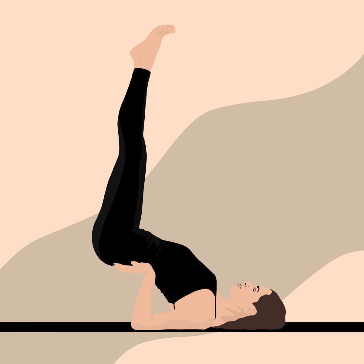 Ketis Art On Instagram Yoga Time In 2021 Yoga Illustration Yoga Art Illustration Art Girl