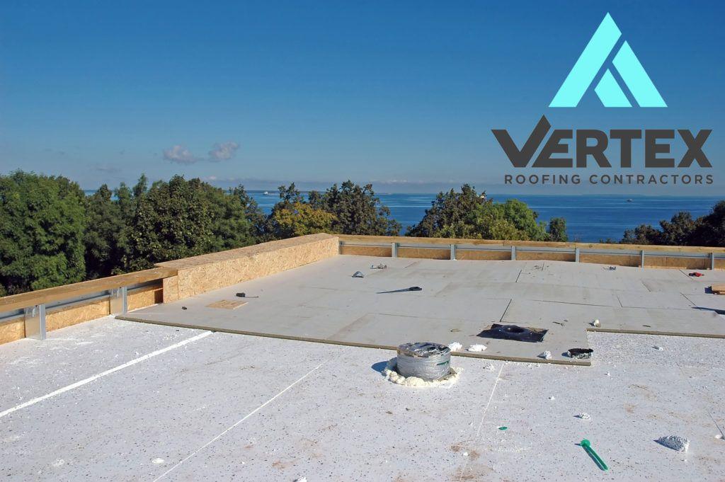 Rigid Insulation Roof Repairs In Salt Lake City Vertex Roofing Rigid Insulation Roof Insulation Roofing Contractors