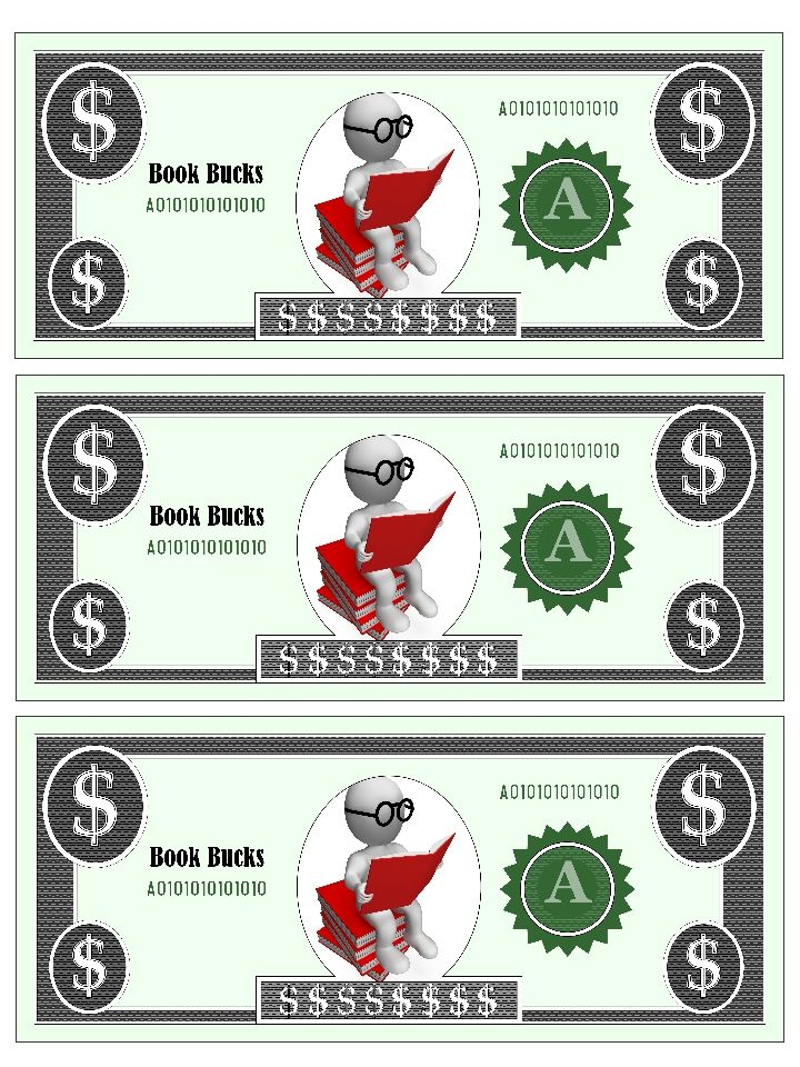picture regarding Printable Reward Bucks identified as Benefit Pounds Template Studying Advantages charts galore