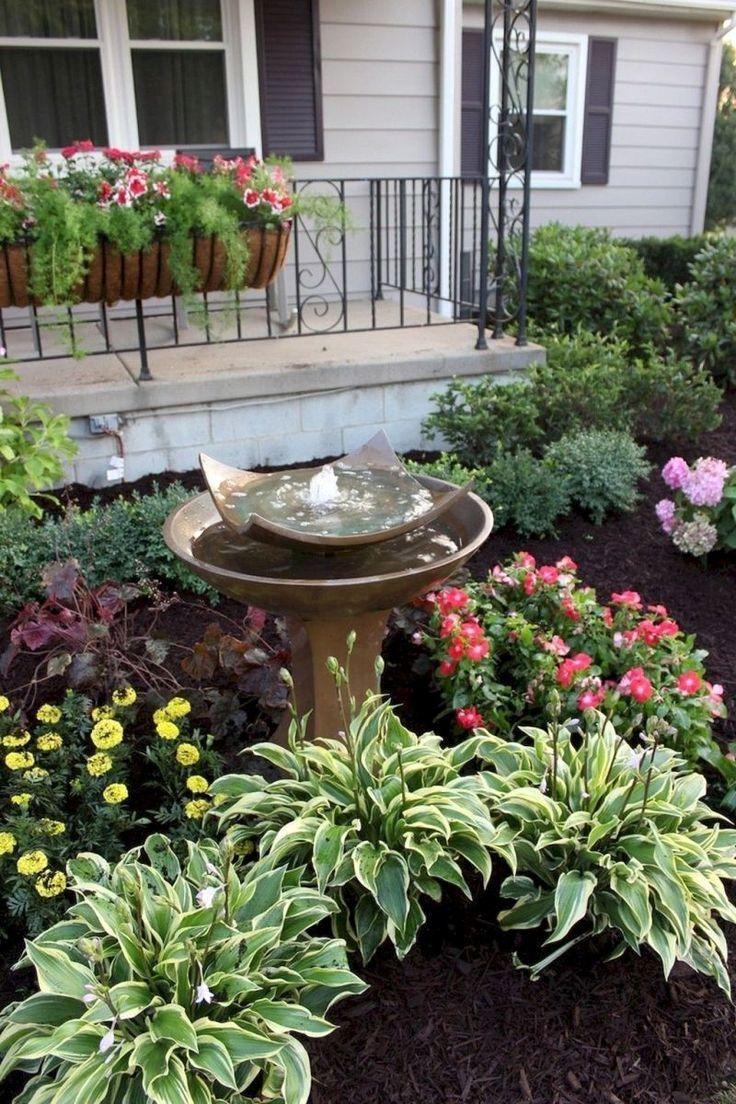 Idee De Plantation Pour Parterre 37 green front yard landscaping ideas | aménagement paysager