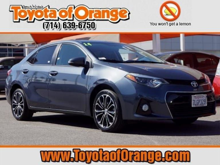 2014 Toyota Corolla For Sale >> Used 2014 Toyota Corolla For Sale In Orange Ca Stock