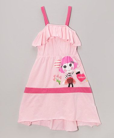 This Mime Lala Play Dress - Girls by Lalaloopsy is perfect! #zulilyfinds