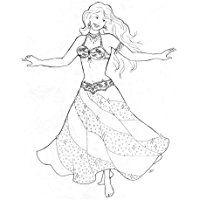 Suzanna's Swirl Skirt Pattern (Belly Dance)