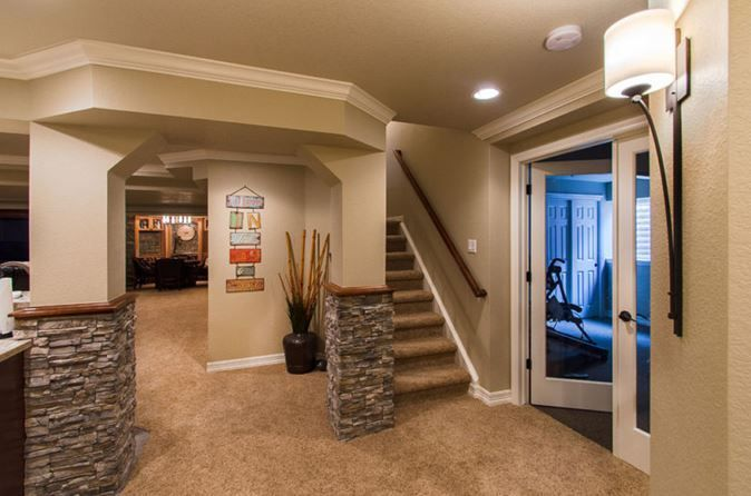 small basement ideas on a budget houses room in 2018 pinterest rh pinterest com