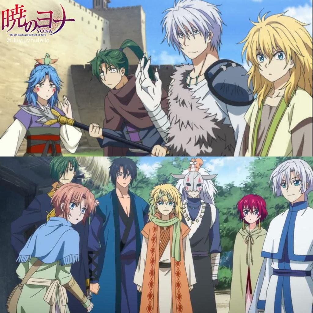 Warriors Of The Dawn Ver Online: Yona Of The Dawn Dragon Warriors