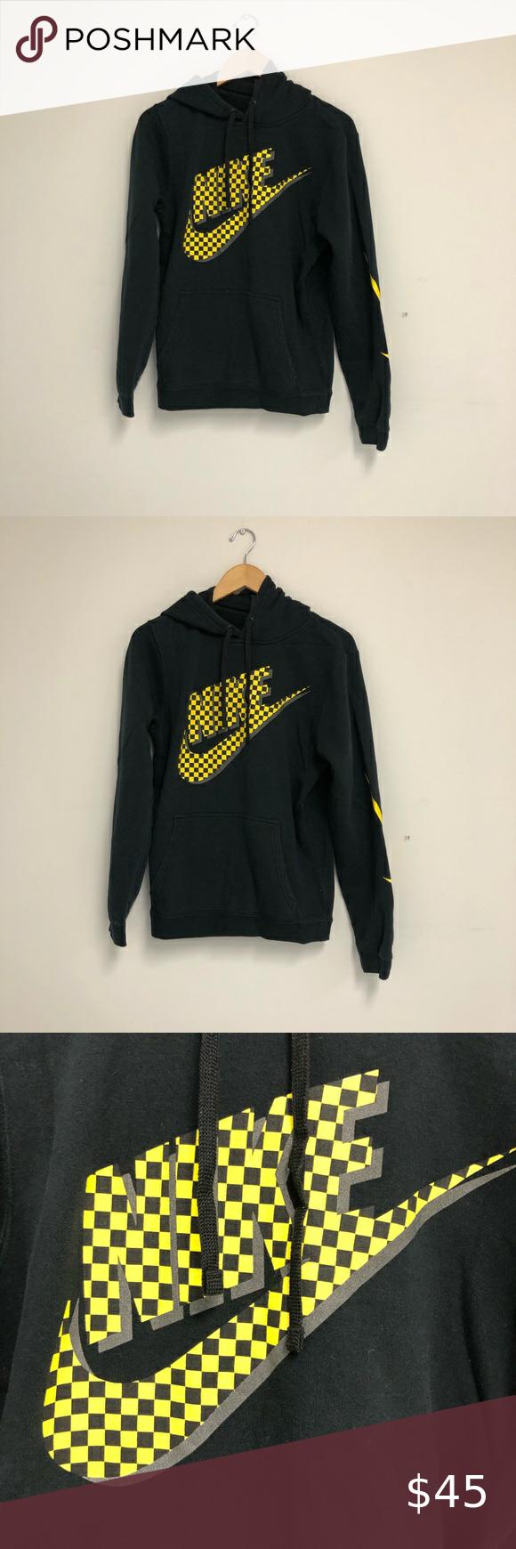 Nike Checkerboard Logo Hoodie Nike Checkerboard Logo Hoodie Size Small Good Used Condition Nike Shirts Sweatshirts Hoodi Sweatshirt Shirt Hoodies Nike Shirts [ 1740 x 580 Pixel ]