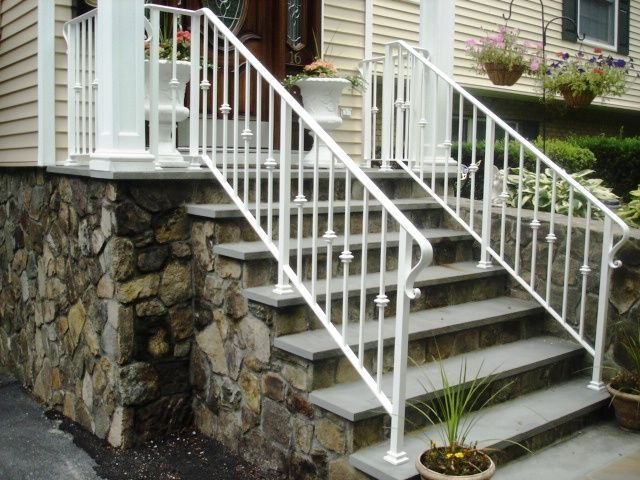 White Wrought Iron Railing Wrought Iron Railings Pinterest