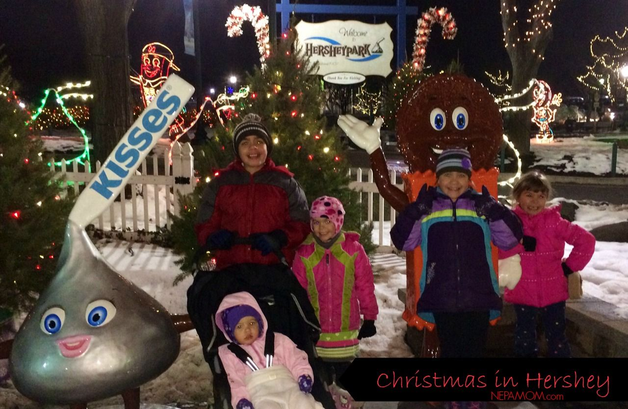our hershey park christmas visit nepa mom