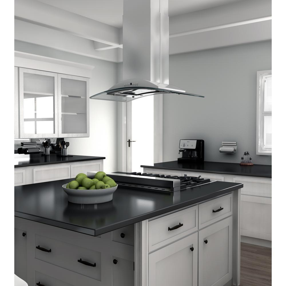 Zline Kitchen And Bath 36 In Island Mount Range Hood