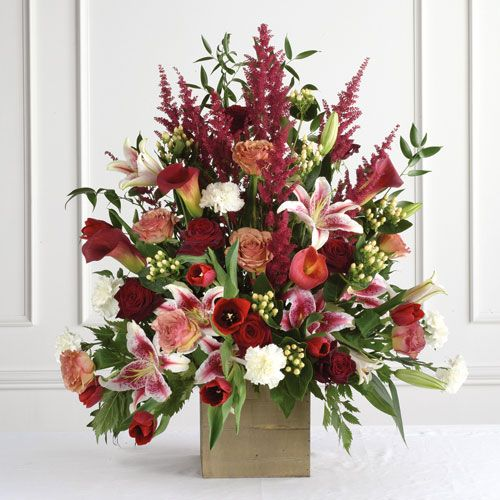 Large Wedding Altar Arrangements: Wedding Altar Flowers Arrangements