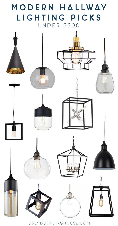 14 Modern Hallway Lighting Ideas Under 200 Modern Hallway Hallway Lighting Hallway Light Fixtures