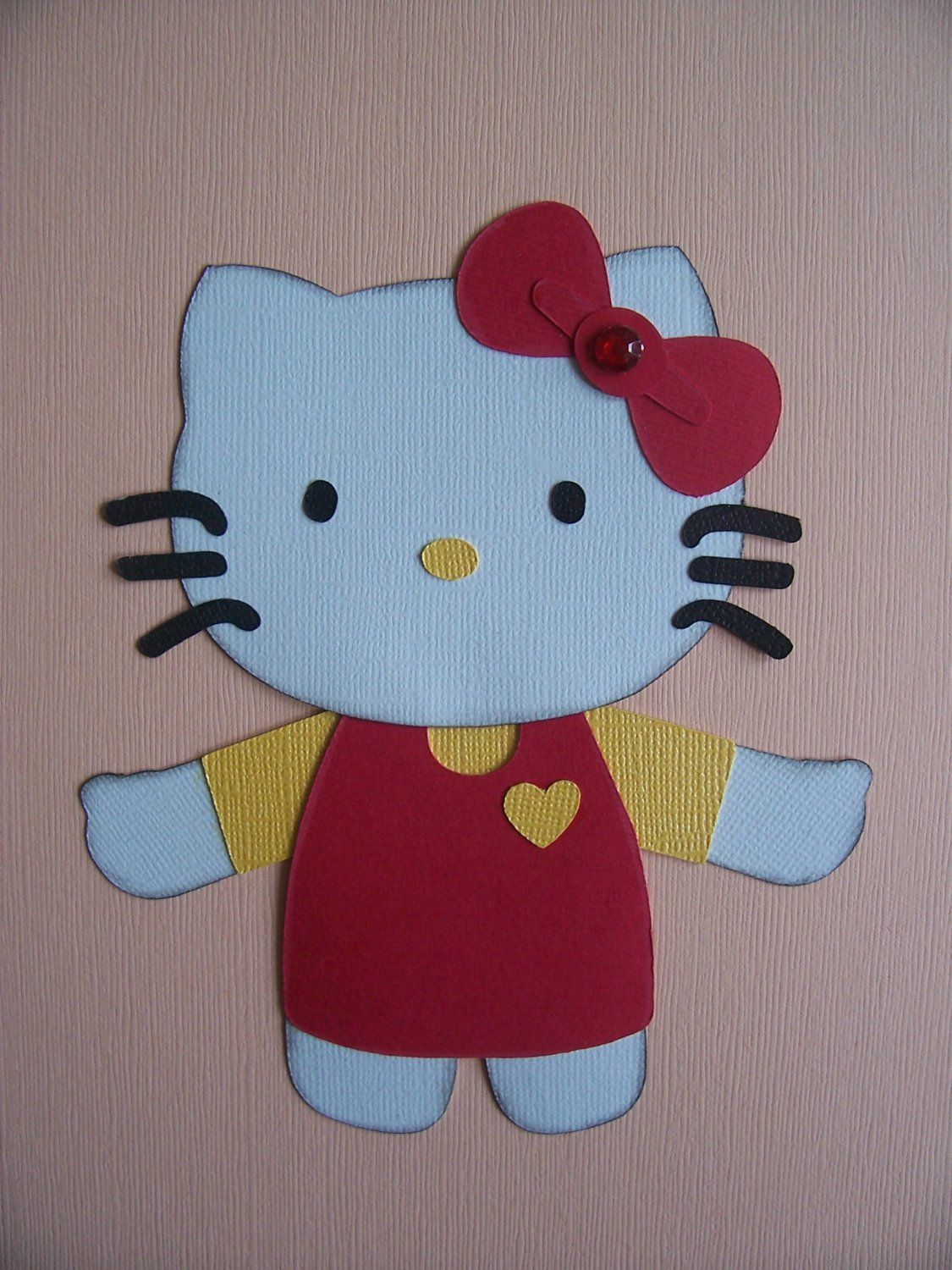 Kitty Scrapbooking Paper Piecing Pattern