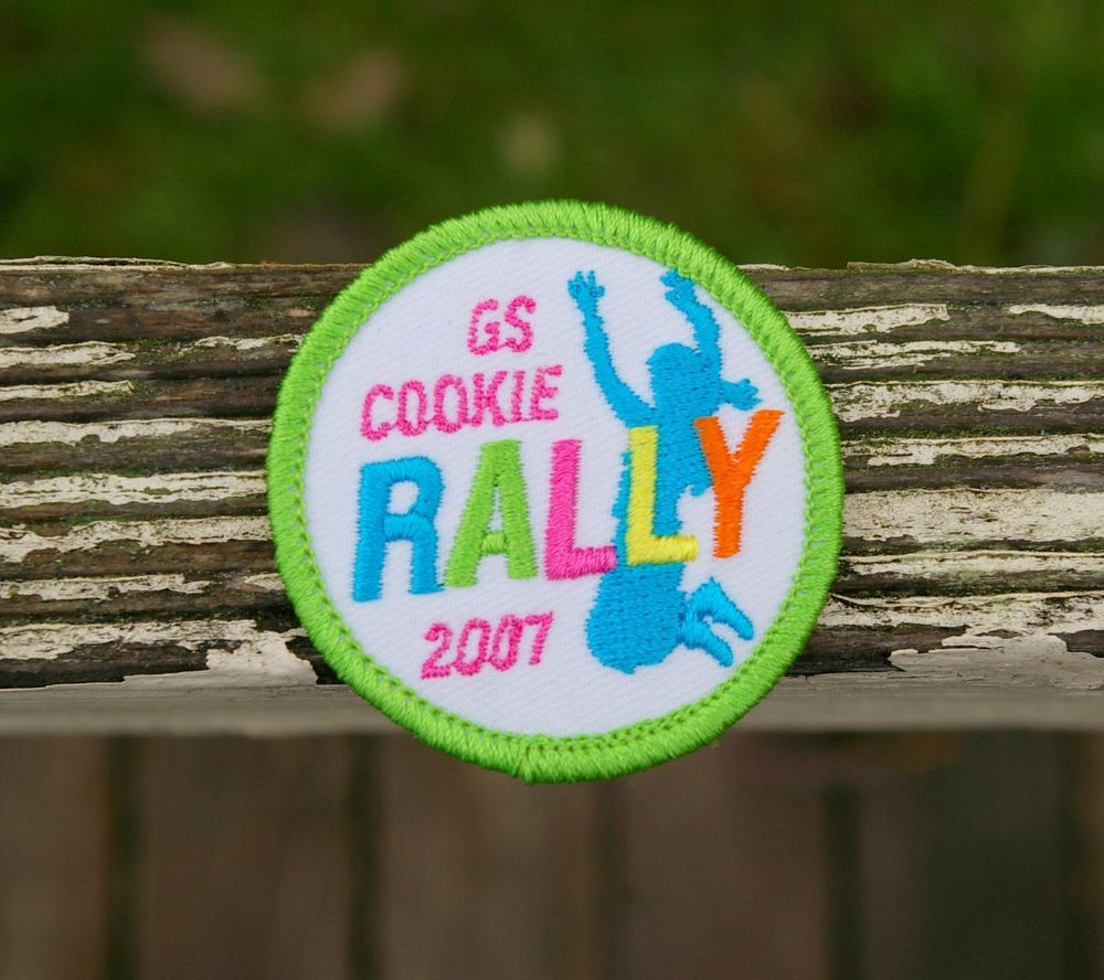 Embroidered Patches Girl Scouts