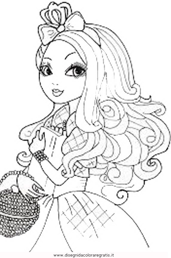Coloring Pages Ever After High Briar Beauty