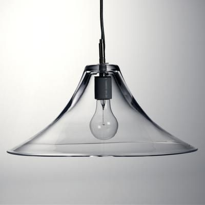 Simon pearce hanover pendant lamp that hangs in our dinning room our edison bulb looks a bit better though