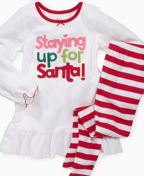 childrens pajamas sale white-red | Children Designer Wear ...