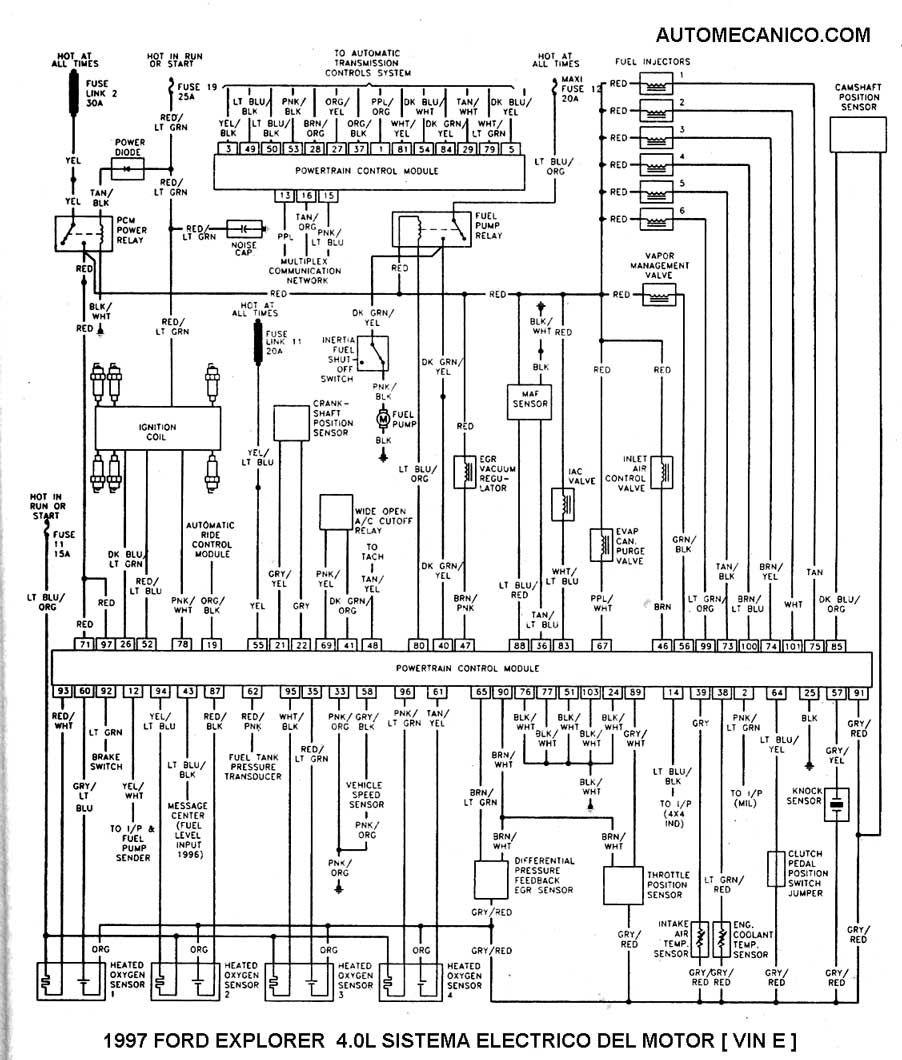 Diagrama De Modulo De Encendido Ford Ford Falcon Ford Sheet Music