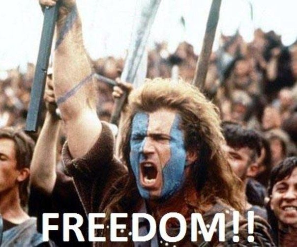 Why There S Nothing Better Than Taking Your Bra Off At The End Of The Day Braveheart Good Movies Mel Gibson