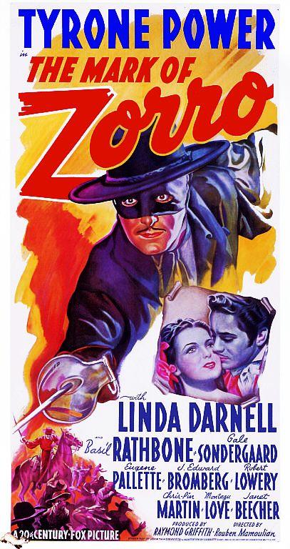 The Mark Of Zorro  (1940)   ****