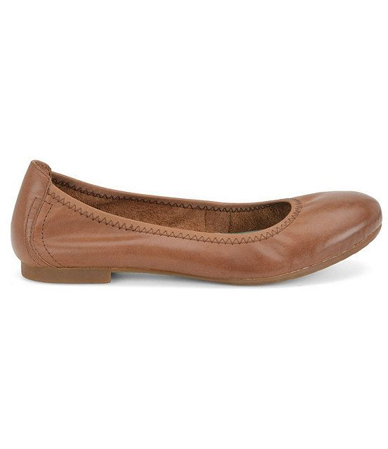 Born Julianne Leather Flat jCEkryi53