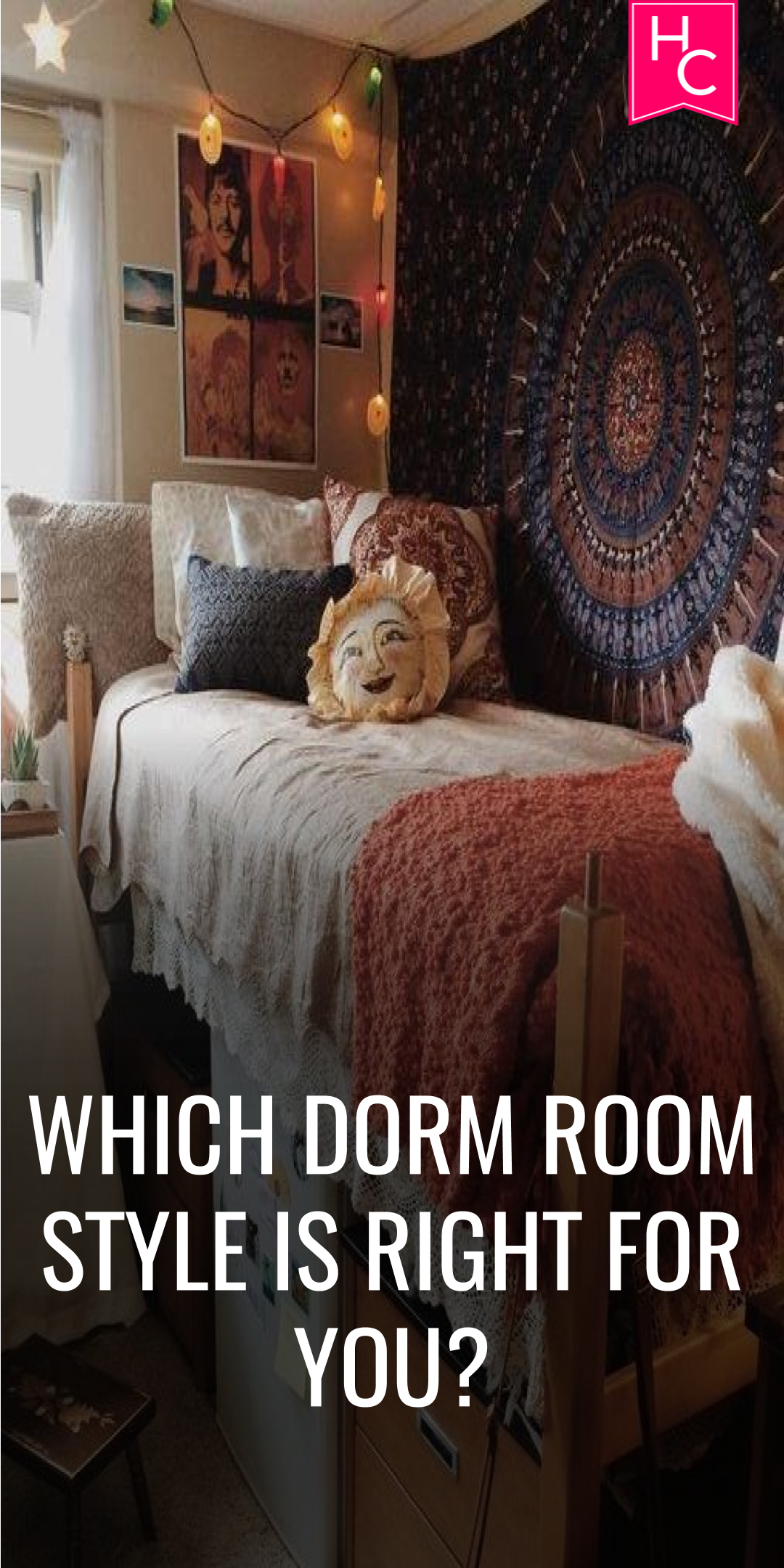 Quiz: Which Dorm Room Style is Right for You? | Dorm room styles ...
