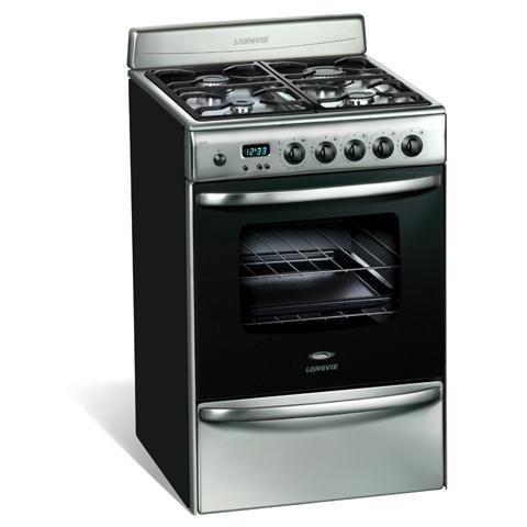 Cocina a Gas mod. 20501XF - 56cm. Inox.