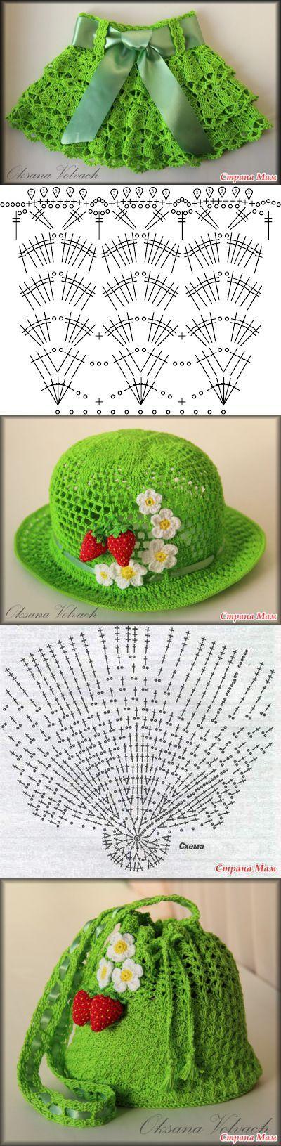 crochet | Vestidos | Pinterest | Ganchillo, Tejido y Falda