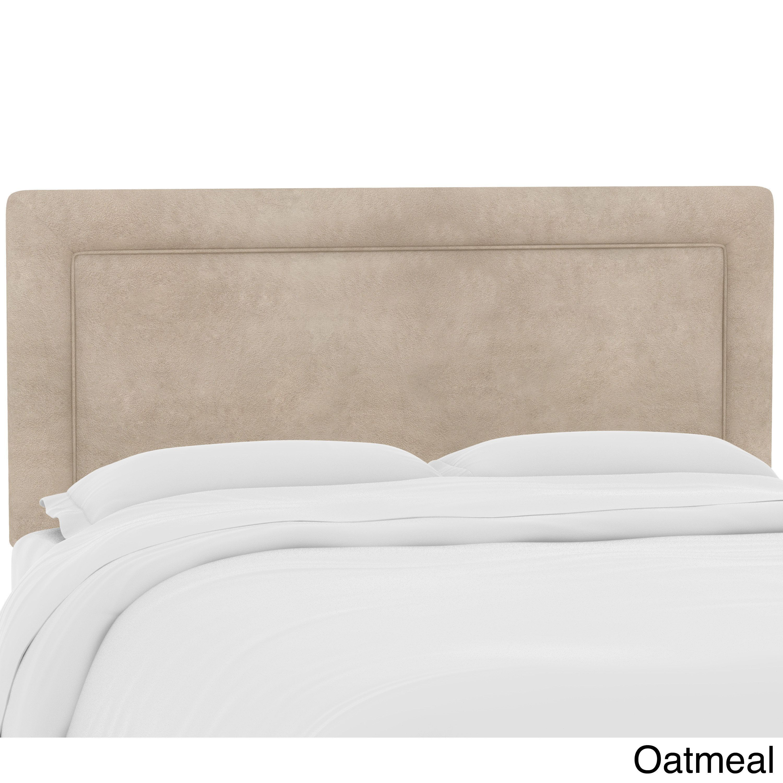 Skyline Furniture Custom Upholstered Headboard in Micro-suede ...