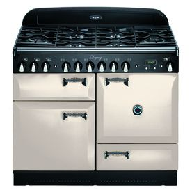 Charming Ideas Double Ovens Lowes. AGA Legacy 6 ft Double Oven Convection Dual Fuel Range  Ivory at Lowe s For vintage design with modern features look no further than the Aga 44 In Burner 2 4 Cu Ft