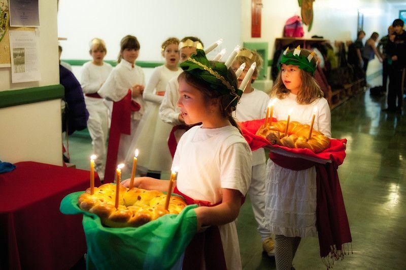 2nd Grade Celebration of Saint Lucia - yostopia pictures -- Gary Yost