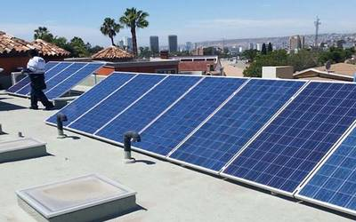 Simple Explanation Of How A Photovoltaic Solar Panel Or Plate Works Placas Solares