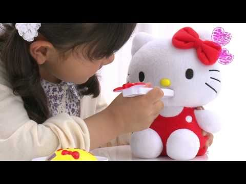 "Hello Kitty Mogumogu Friend (The ""Feed Me"" Hello Kitty) - YouTube"