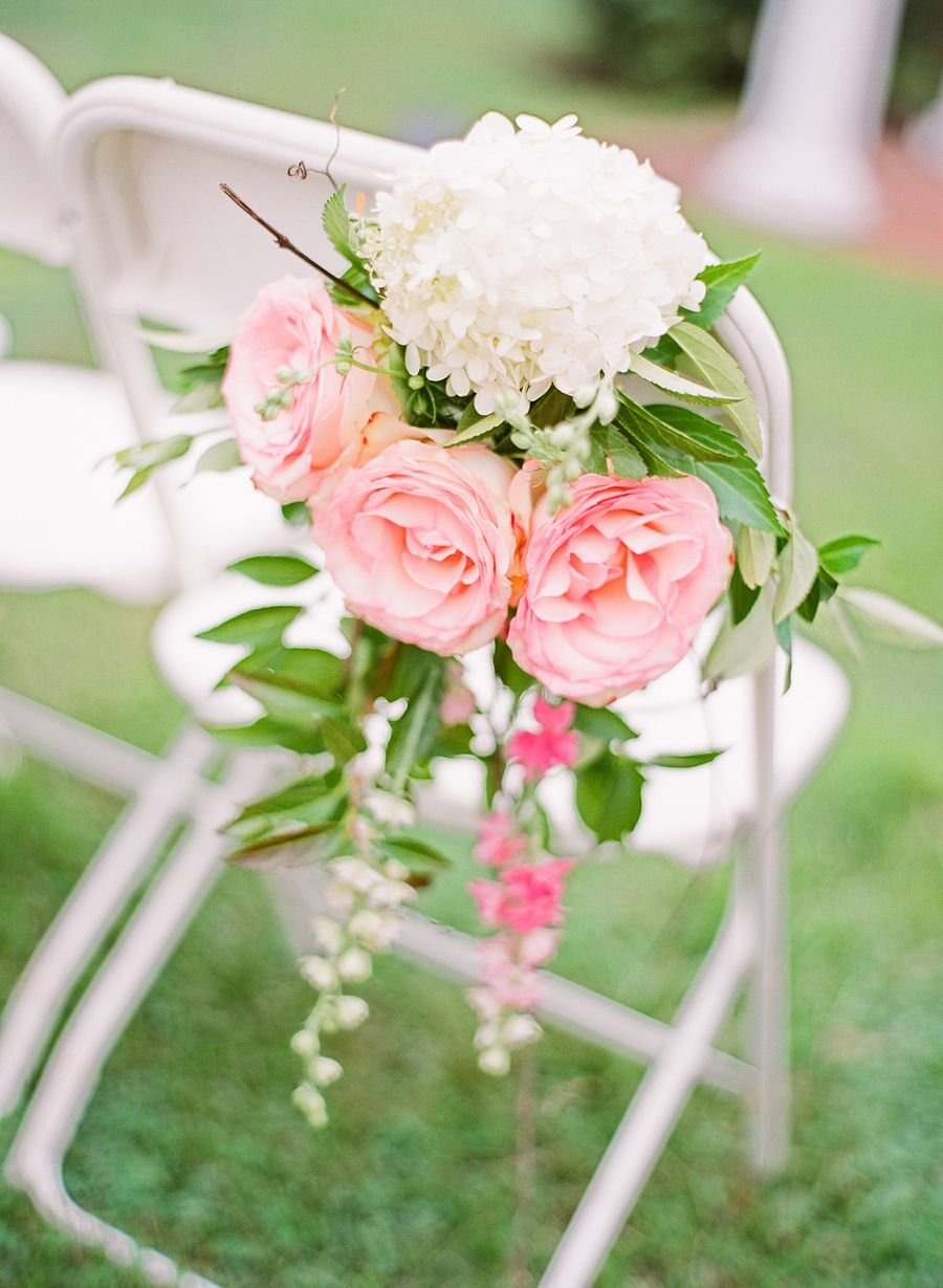 Pink Rose Ceremony Aisle Decor   Pink roses, Rose and Weddings