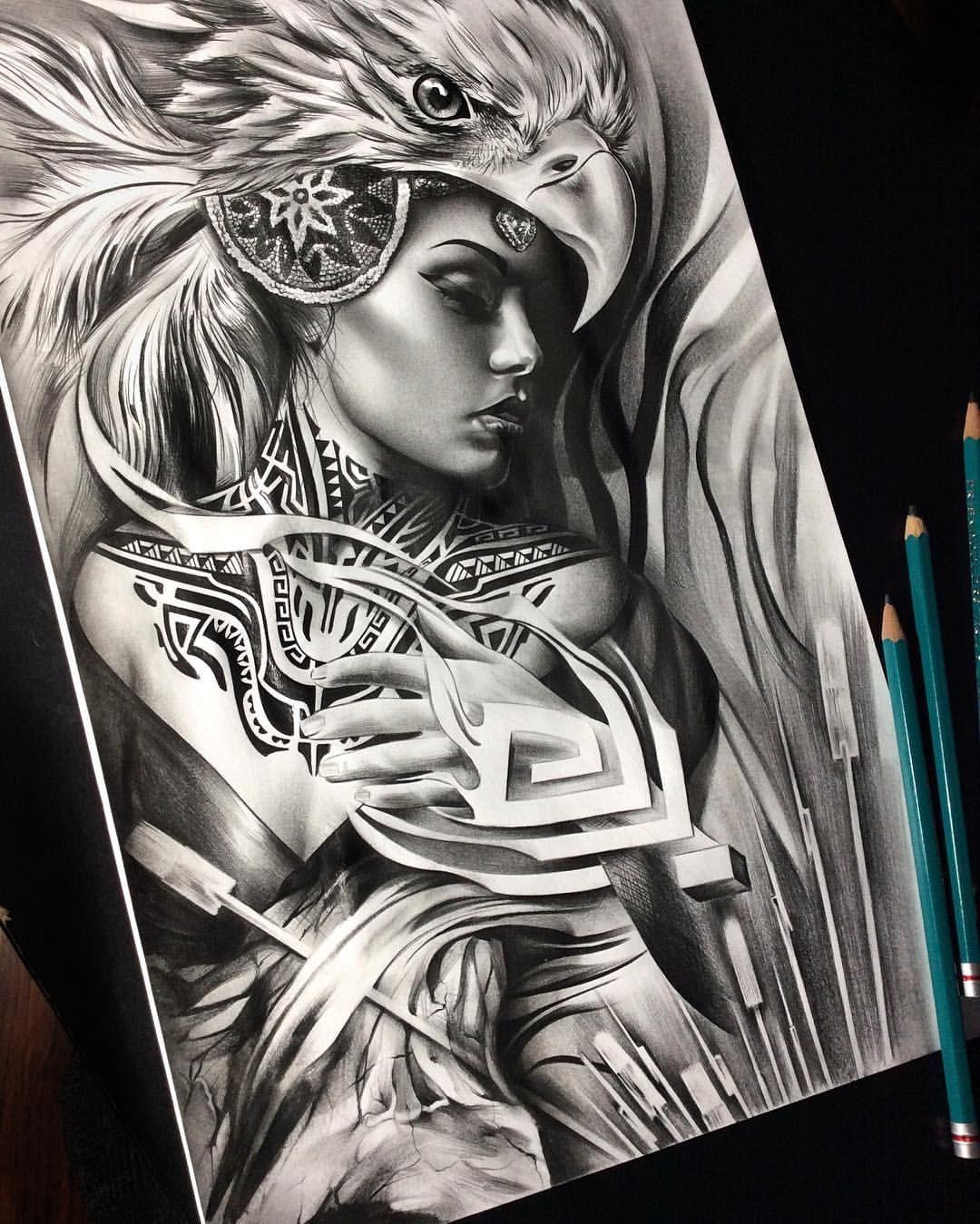 See This Instagram Post By Tattoospooky D 735 Likes Warrior Drawing Aztec Warrior Tattoo Aztec Tattoo