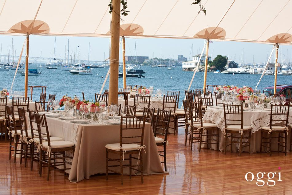 Tented Wedding At The New York Yacht Club