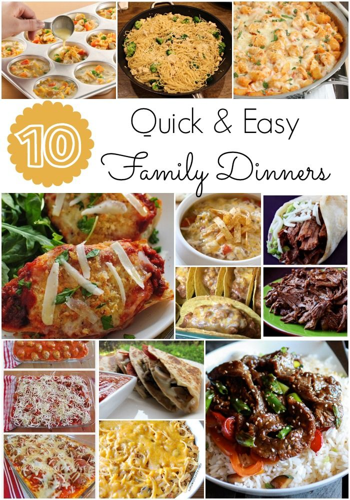 Quick And Easy Family Dinners I Am Always Looking For Quick And