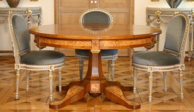 Modèle Salle à manger Louis XVI Salle de séjour Pinterest - salle a manger louis