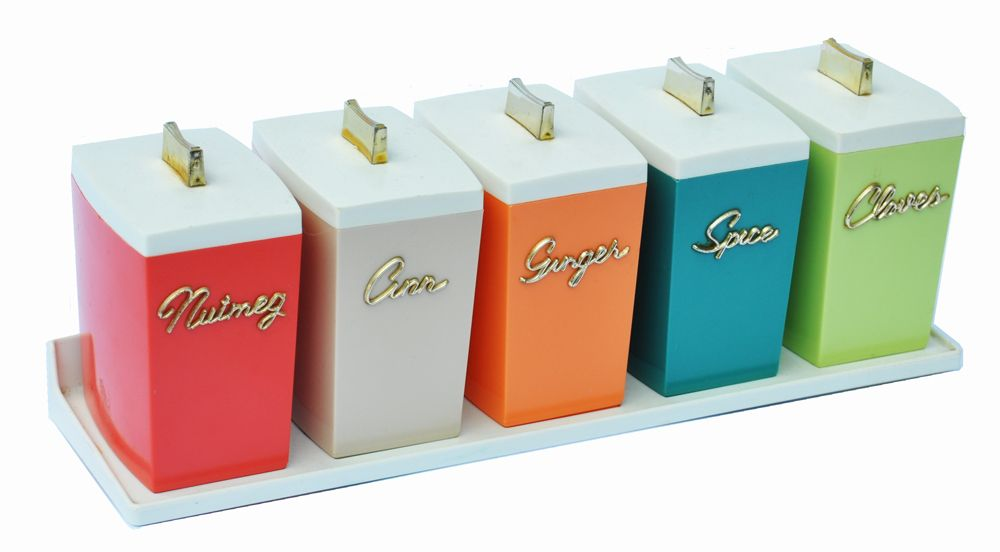 canister sets australia capri spice canisters designed by paul schremmer 1960s