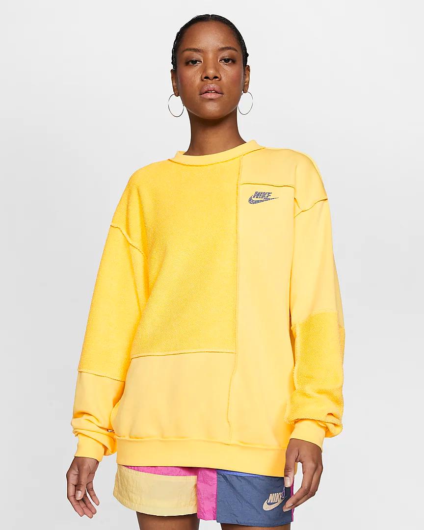 Nike Sportswear Icon Clash Women's Fleece Crew.