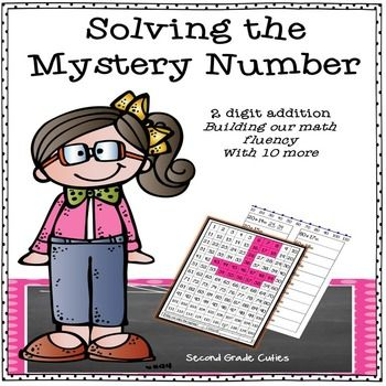 Students will race to solve the hidden picture while practicing their math fluency.  Students will mentally add tens to a given number from 1-120.  These may be completed whole group or as an independent activity. (My students love them as an independent 'math club' time.) Students must complete each page and color the answer on the 1-120 chart to solve each mystery.