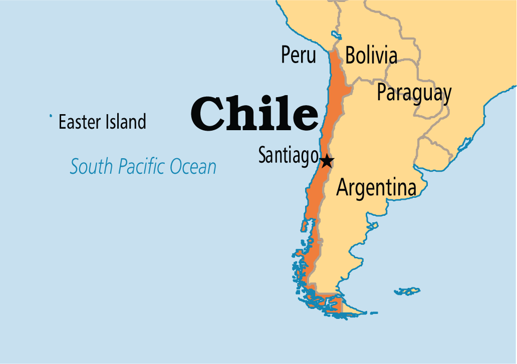 Chile is a country in South America The capital of Chile is