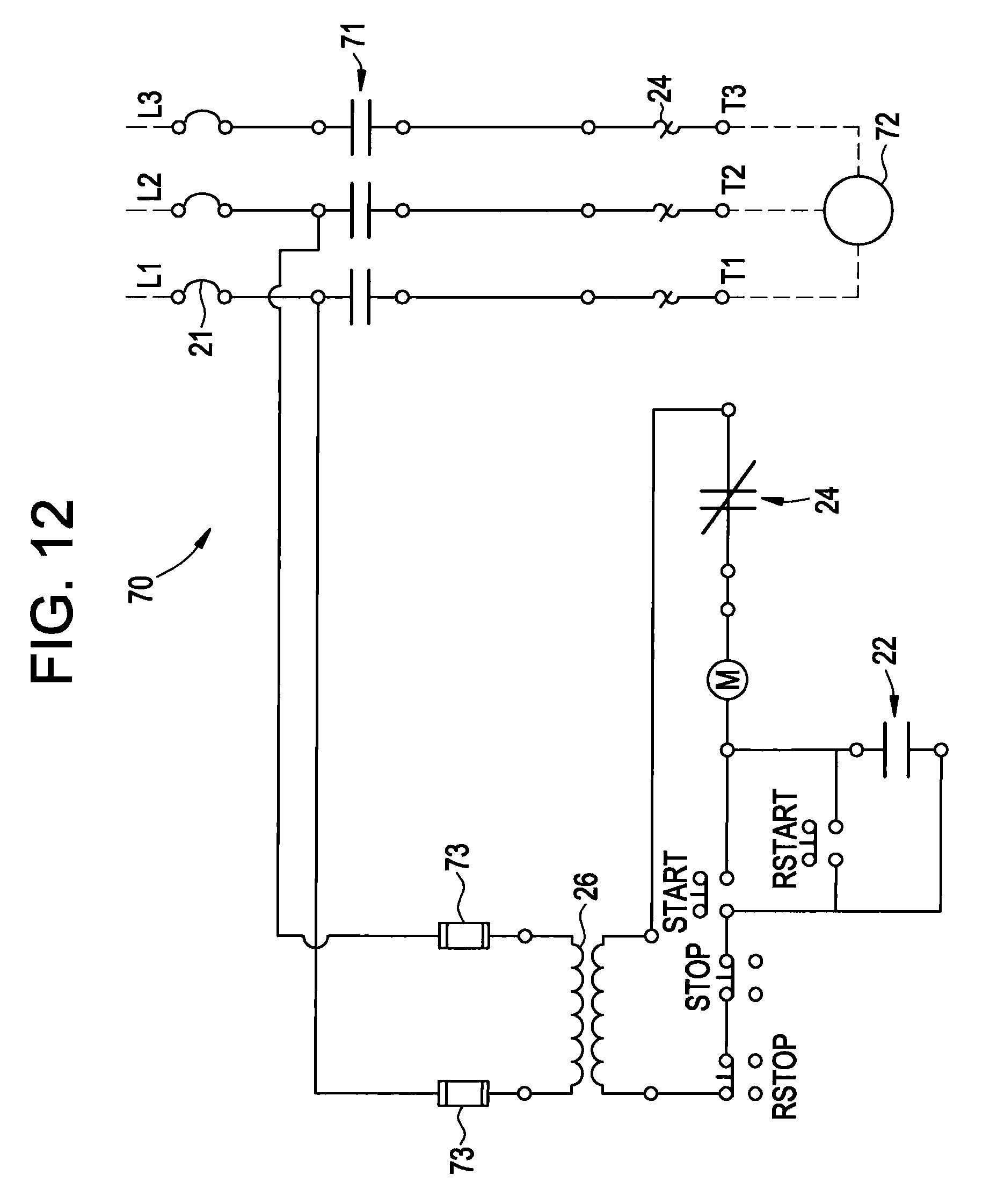 Single Phase Starter Wiring Diagram from i.pinimg.com