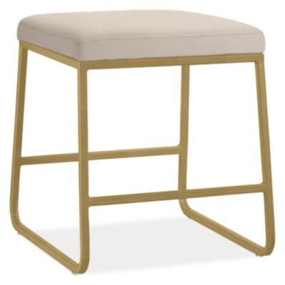 Awe Inspiring Collins Modern Fabric Low Stool Modern Benches Stools Short Links Chair Design For Home Short Linksinfo