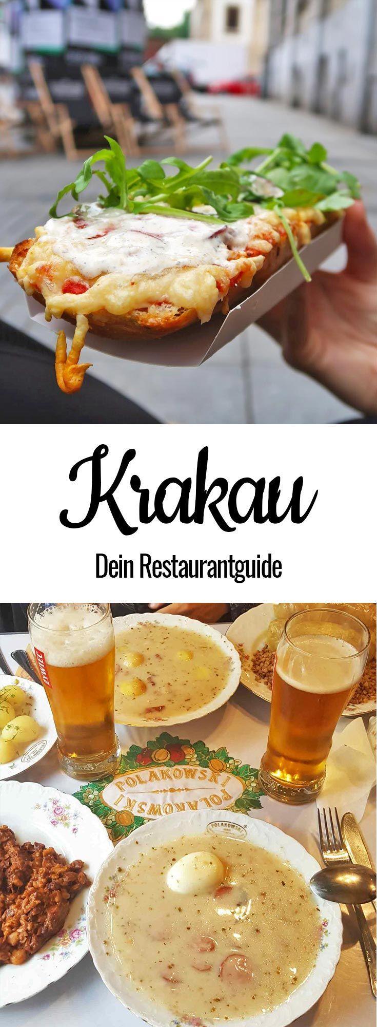 Krakau Restaurants: Die leckersten Foodtipps der Stadt! #favoriteplaces