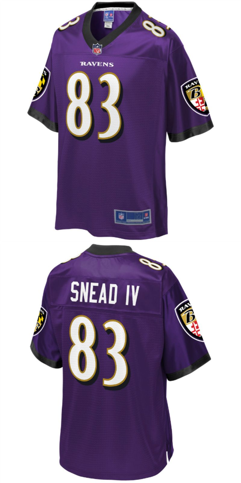 cheaper 3e856 8cd00 UP TO 70% OFF. Willie Snead Baltimore Ravens NFL Pro Line ...